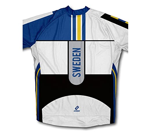 Amazon.com   ScudoPro Sweden Long Sleeve Cycling Jersey for Men   Sports    Outdoors e3d4459fd