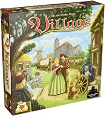 Village is a game full of tactical challenges. A smart and unique new action mechanism is responsible for keeping turns short and yet still tactically rich and full of difficult decisions. Also unique is the way this game deals with the delic...