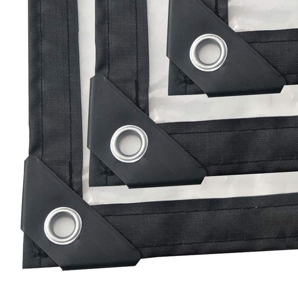 Plastik-Tarp, Clear Waterproof, Grommets Grommets Waterproof, und verstärkte Edges Leichtgewicht für maximale Portabilität und Schutz,3x6m/9.9x19.8ft 9f2a4c