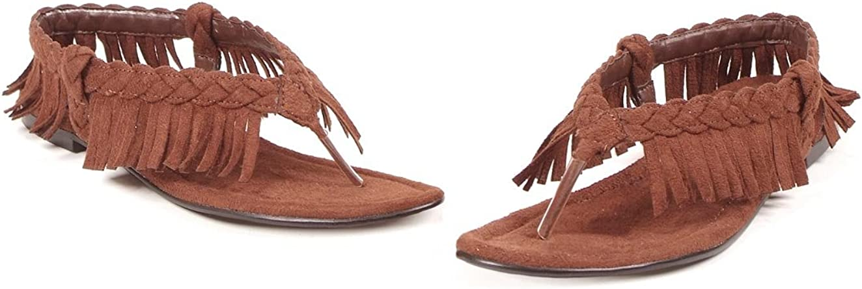 Fringe Indian Costume Sandals