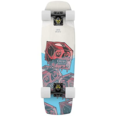 "Landyachtz Dinghy 28"" Complete Skateboard (Coffin Cocktail) : Sports & Outdoors"