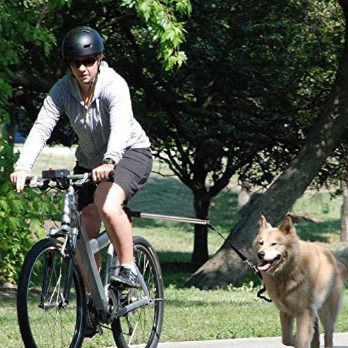 PETCUTE Guinzaglio per Cani Guinzaglio per Bicicletta a Mani libere Guinzaglio per Cani per Biciclette Guinzaglio per addestramento di Cani
