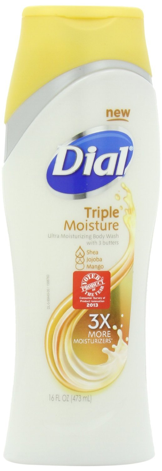 Dial Body Wash - Triple Moisture - 16 Ounce by Dial