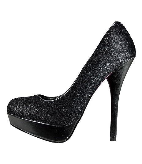Pumps mit Stiletto Absatz, schwarz | Heels | Schuhe