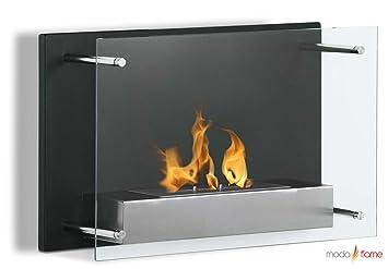 Amazon.com: Moda Flame Epila Wall Mounted Ethanol Fireplace: Home ...