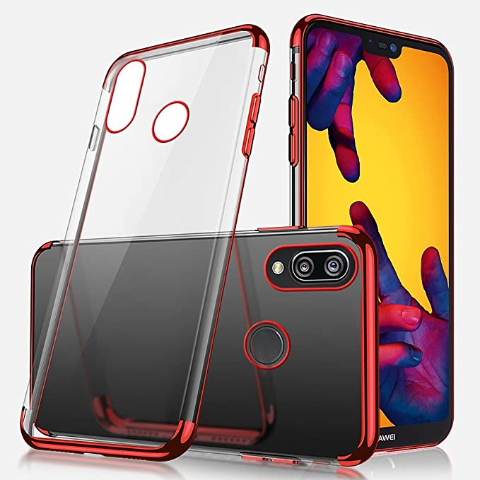 2 opinioni per Cover Huawei P20 Lite,Custodia Huawei P20 Lite,Placcatura paraurti Cover