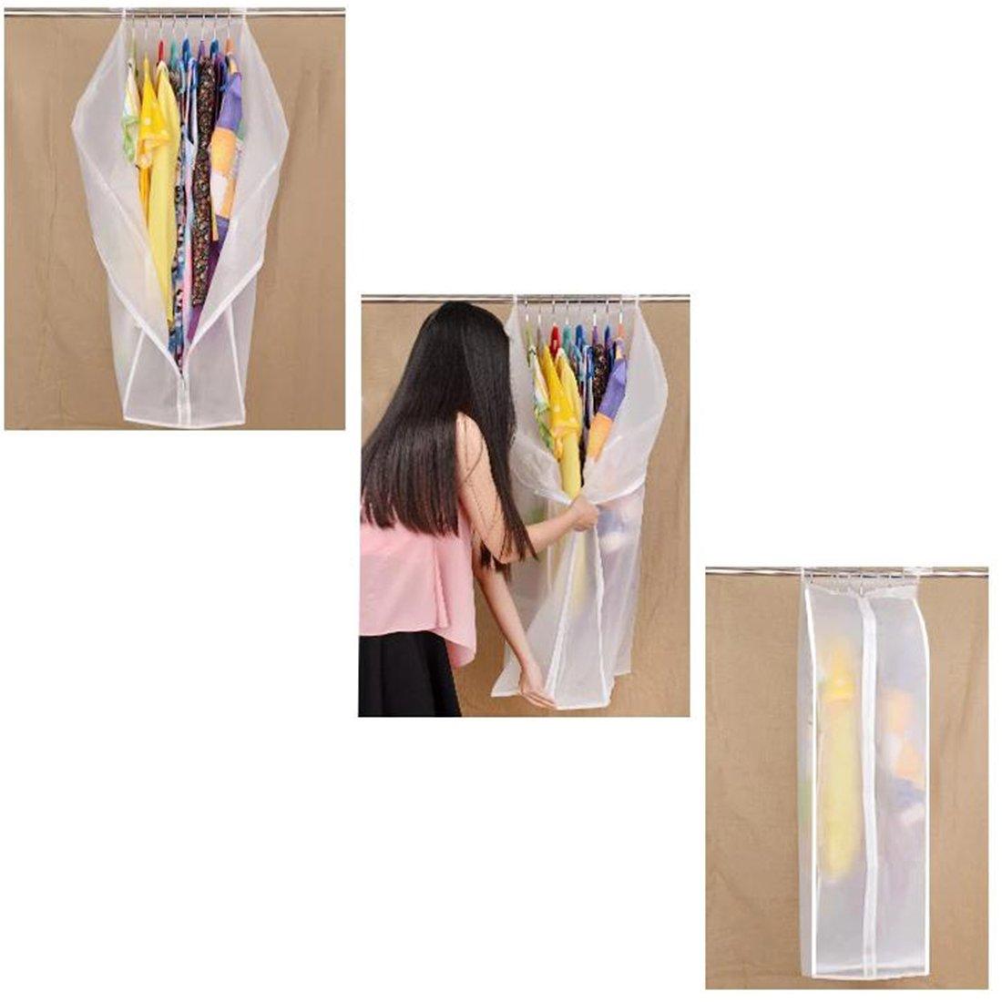 Teckpeak Kleiderschutzhülle Hängetasche Kleidersack-60×90×30cm
