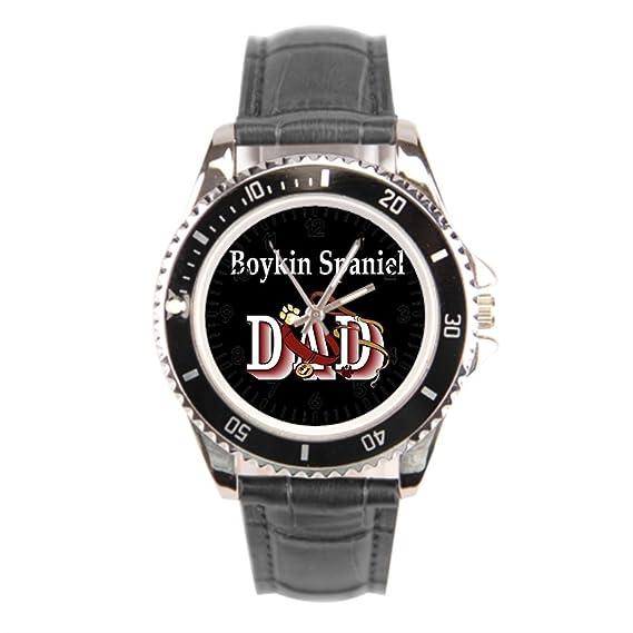 Reloj de pulsera, cnbluer tiendas Boykin Spaniel perros por Dezign Boykins reloj de pulsera banda: Amazon.es: Relojes