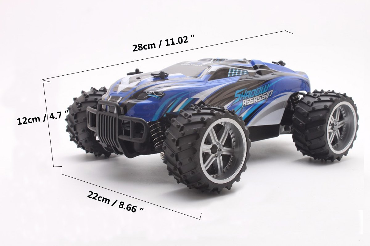 FPVERA Remote Control Car Electric RC Cars for Kids Adults Gifts 1:18 Scale Car-Red 2.4Ghz Radio Remote Control Car High Speed 1//18 Scale Rc Trucks 4WD Off Road Racing Vehicle