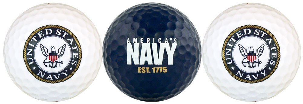 EnjoyLife Inc United States Navy USN Golf Ball Gift Set