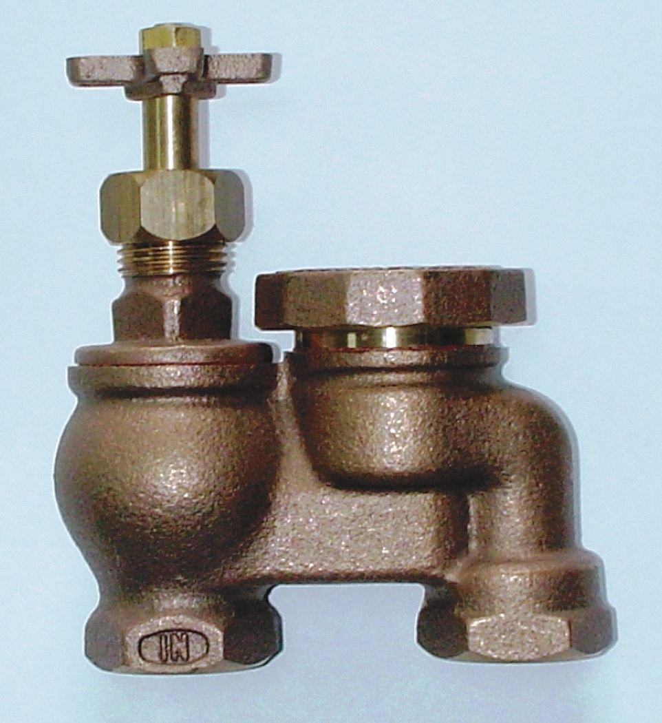 Industrial Grade 4NDT1 Anti-Siphon Control Valve, 1In, FNPT, Brass
