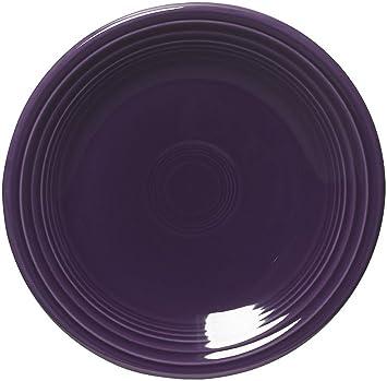 fiesta dinnerware 10 12 inch dinner plate plum purple - Fiesta Plates