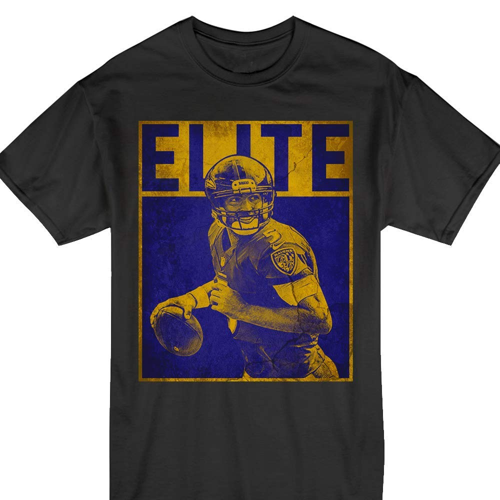 Joe Flacco Elite Funny Football 5 Baltimore Pride T Shirt 4246