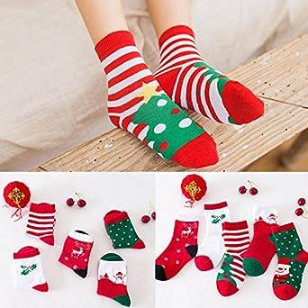 Kids Baby Child Christmas Holiday Socks Toddler Socks Autumn Winter Soft Socks