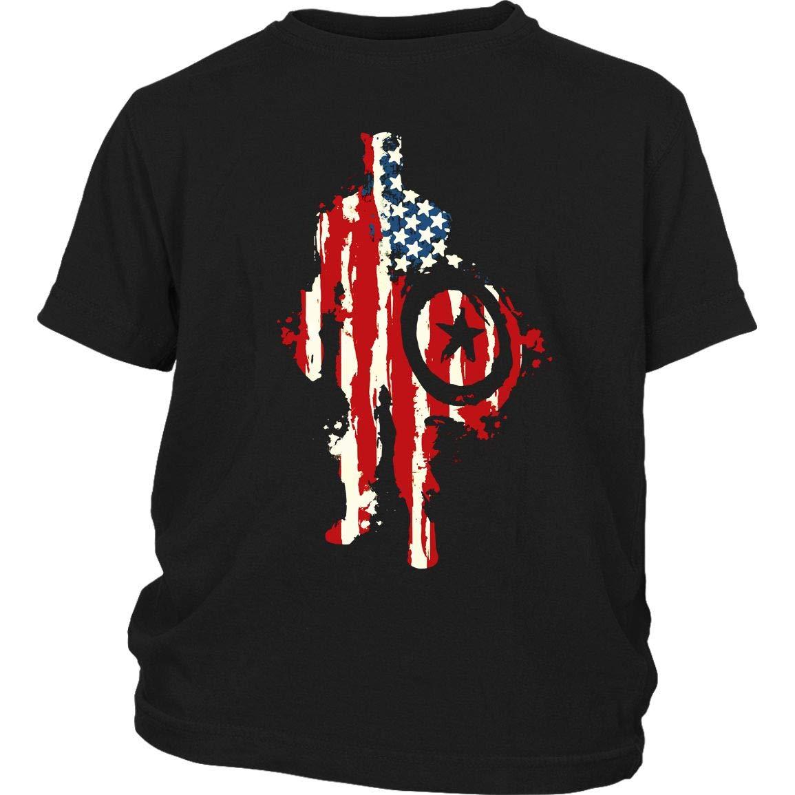 Flag T Shirt Cool Movie T Shirt Heroes T Shirt 1767