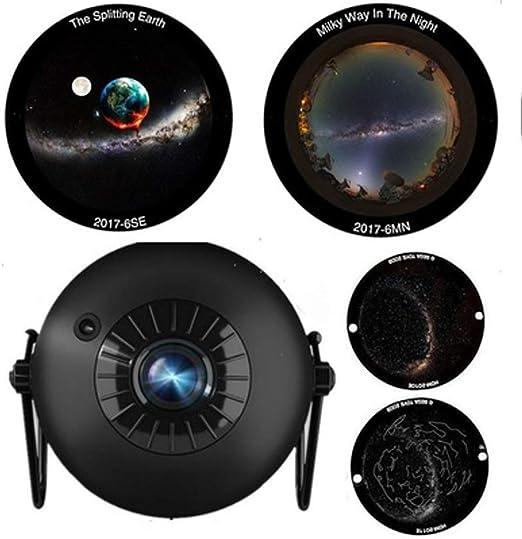 Proyector Giratorio de luz Nocturna, proyector de Estrellas ...