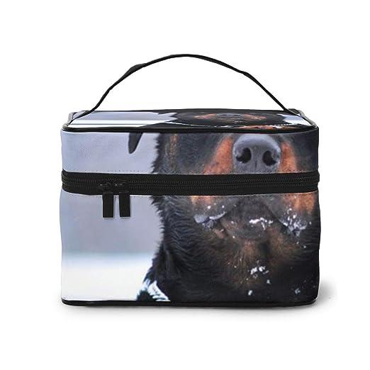 YudoHong Bolsas de Maquillaje Rottweiler Perro Collar de ...
