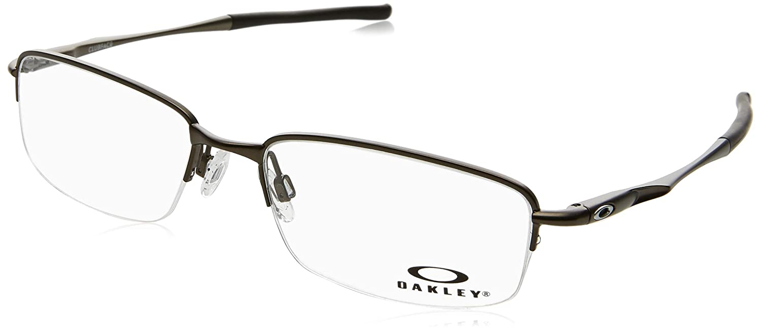 5c54cd1c1a4 Amazon.com  Oakley Rhinochaser Men s Active RX Prescription Frame - Satin  Black Size 52-18-143  Shoes