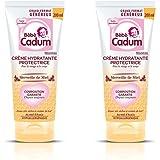 Bébé Cadum - Crème Hydratante Protectrice pour Corps/Visage Merveille de Miel - 200 ml - Lot de 2