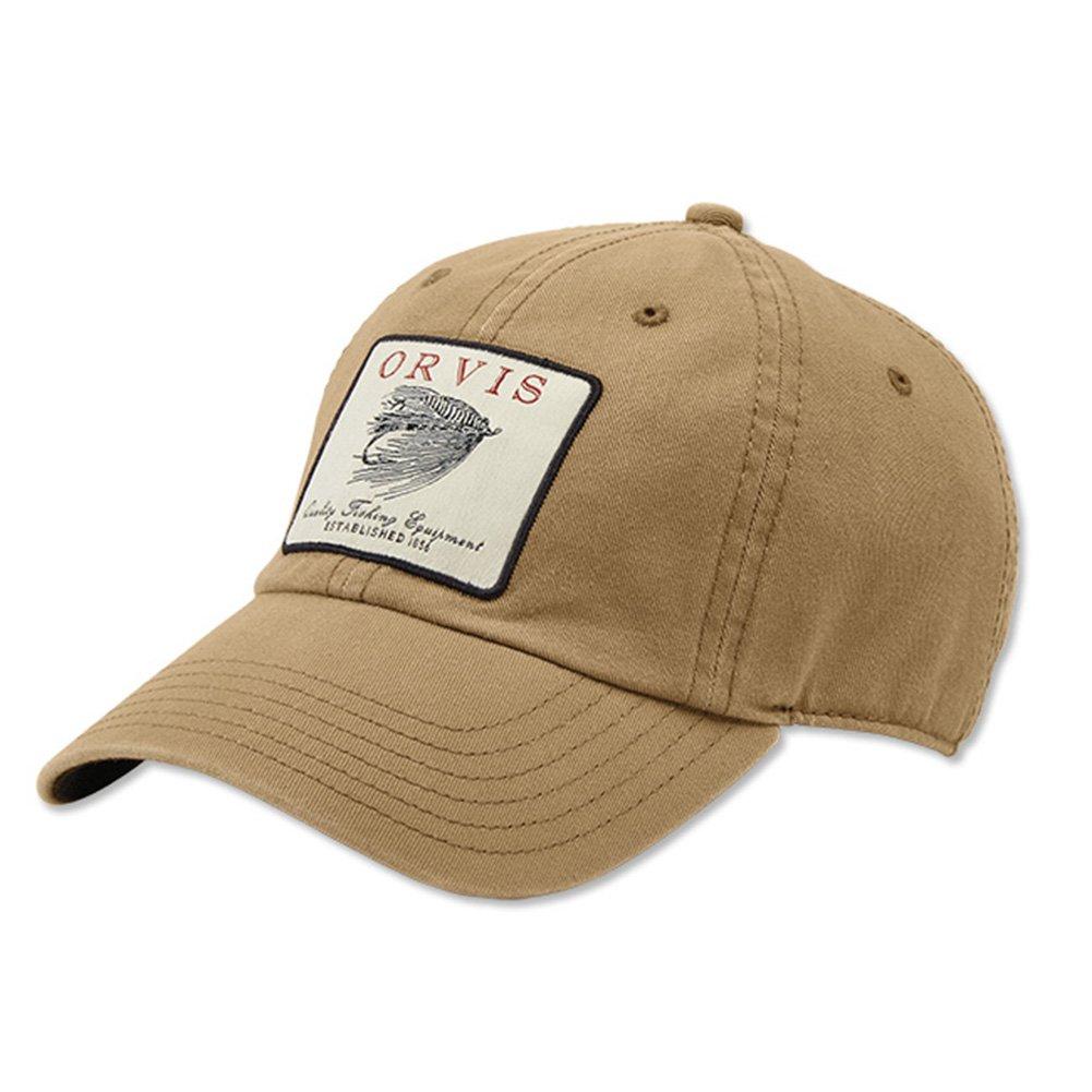 9d1de4866 Orvis Vintage Salmon Fly Twill Cap, Khaki: Amazon.co.uk: Clothing