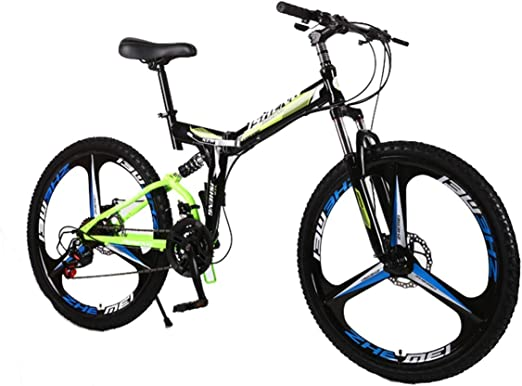 KOSGK Bicicleta MontañA Unisex Bicicletas para NiñOs Marco Acero ...