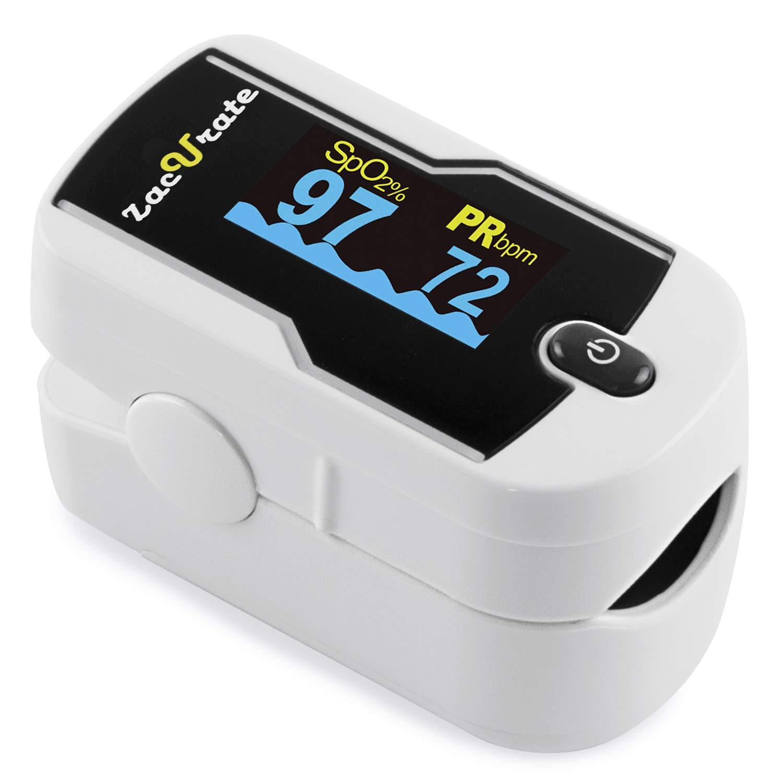 Amazon.com: Zacurate 430-DL - Pulsómetro de oxígeno de ...