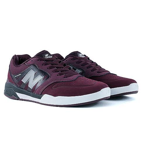 New Balance Numeric - Zapatillas de Skateboarding para Hombre Rojo Granate: Amazon.es: Zapatos y complementos