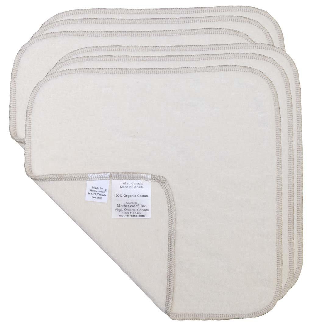 mother-ease toallitas para bebé reutilizable, 6 unidades natural: Amazon.es: Bebé