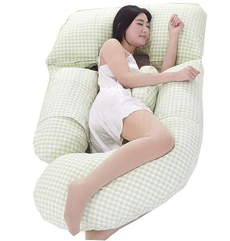 Almohada de embarazo Almohada para el cuerpo Almohada para ...