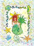 Caroline's Treasures 8081GF Mermaid Flag, Small, Multicolor