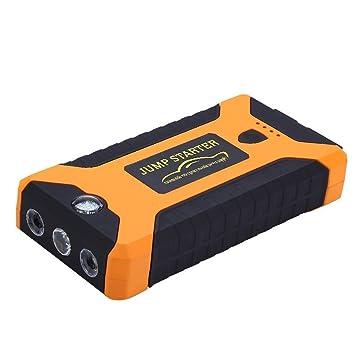 ... recargable de emergencia automático fuente de alimentación 12 V LCD Digital motor Booster Power Bank para ordenador portátil: Amazon.es: Coche y moto