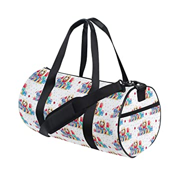 Amazon.com: Watercolor - Bolsa de deporte para cachorro ...