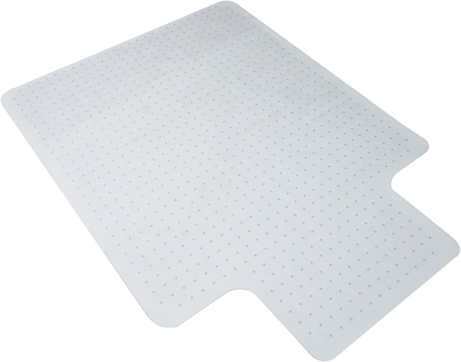 35.4 X 47.2 Clear PVC Carpet Mats Rug Protector Chair Mat US Stock Office Chair Mat for Carpeted Floors