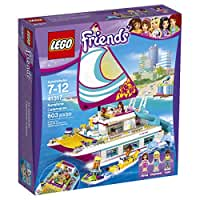 LEGO Friends Sunshine Catamaran 41317 Building Kit (603 Piece)