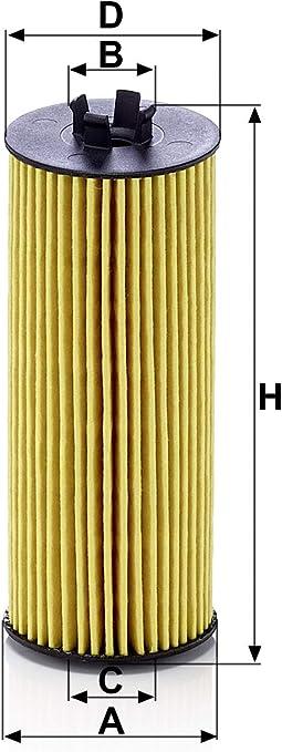 Original Mann Filter Ölfilter Hu 6009 Z Ölfilter Satz Mit Dichtung Dichtungssatz Für Pkw Auto