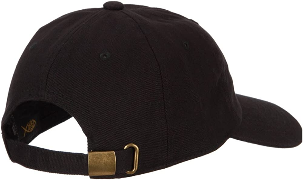 Leo Zodiac Sign Embroidered Unstructured Cap