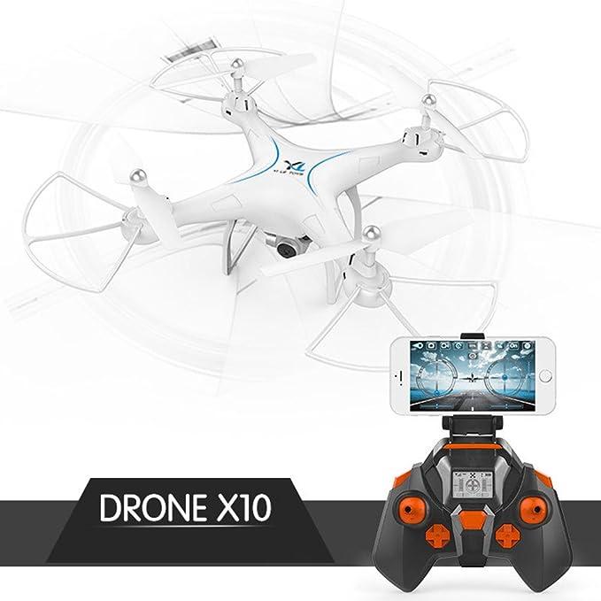 zantec dron X10 mando a distancia Quadcopter WiFi dron con HD ...