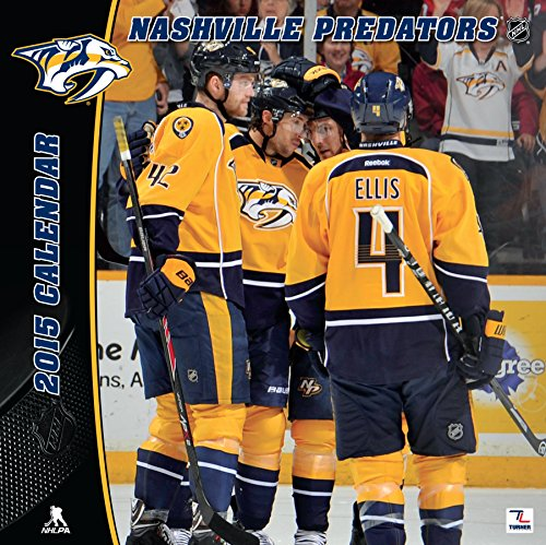 Turner Perfect Timing 2015 Nashville Predators Team Wall Calendar, 12 x 12 Inches (8011733)