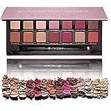 SMTSMT 14 Color Matte Eyeshadow Glitter Cream Eye Shadow Makeup Palette Shimmer Set (A)