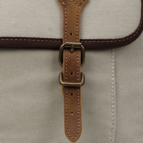 Washed Leather Satchel Trp0410 Messenger London Bag Canvas Stone Heritage Troop 0IUwIxTaq8