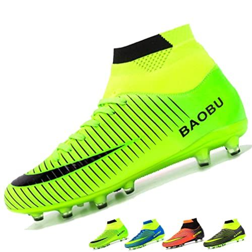 Outdoor Professional Soccer Shoes Low Top Lace Up FG Football Boot Sport Sneaker