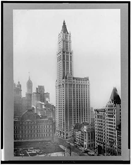 Amazon.com: 1912 photo Woolworth building, New York City . Vintage ...