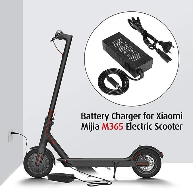 Walmeck- Scooter Charger 42V 2A Cargador Compatible con Xiaomi ...