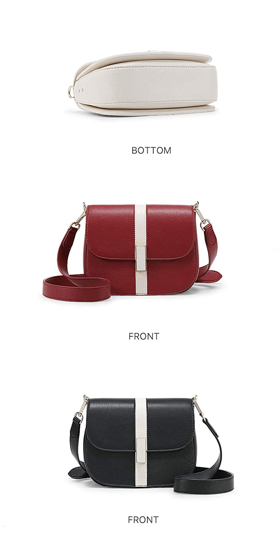 Women Shoulder Bag Designer Saddle Small Handbag Womens Messenger Bags Crossbody For Red