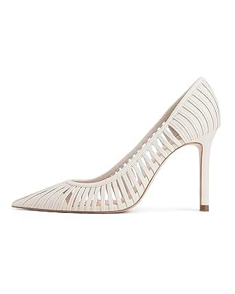 76379e1002c Amazon.com  Zara Women Strappy high-heel shoes 1206 001  Clothing
