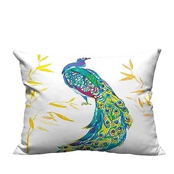 Amazon.com: YouXianHome - Fundas de cojín, diseño de plumas ...