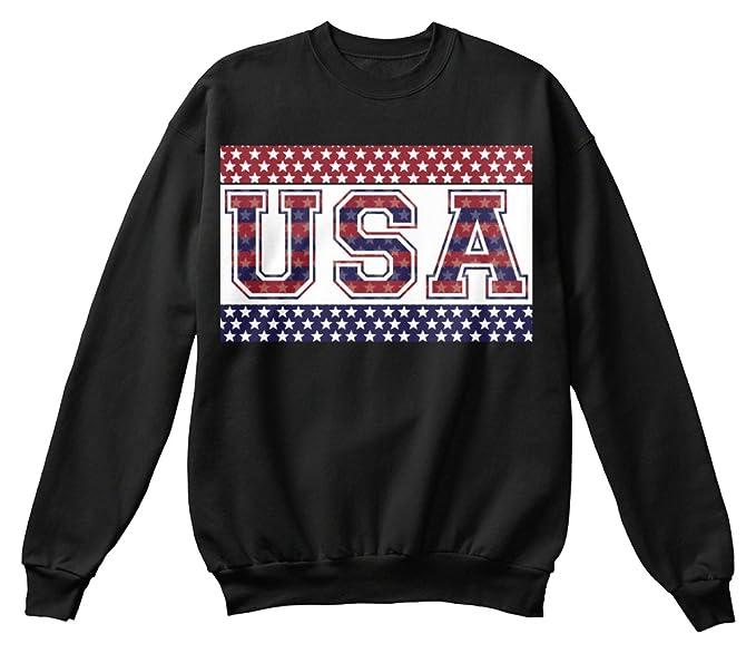 Sudadera Teespring para Hombre - XL - USA American Flag Pride: Amazon.es: Ropa y accesorios