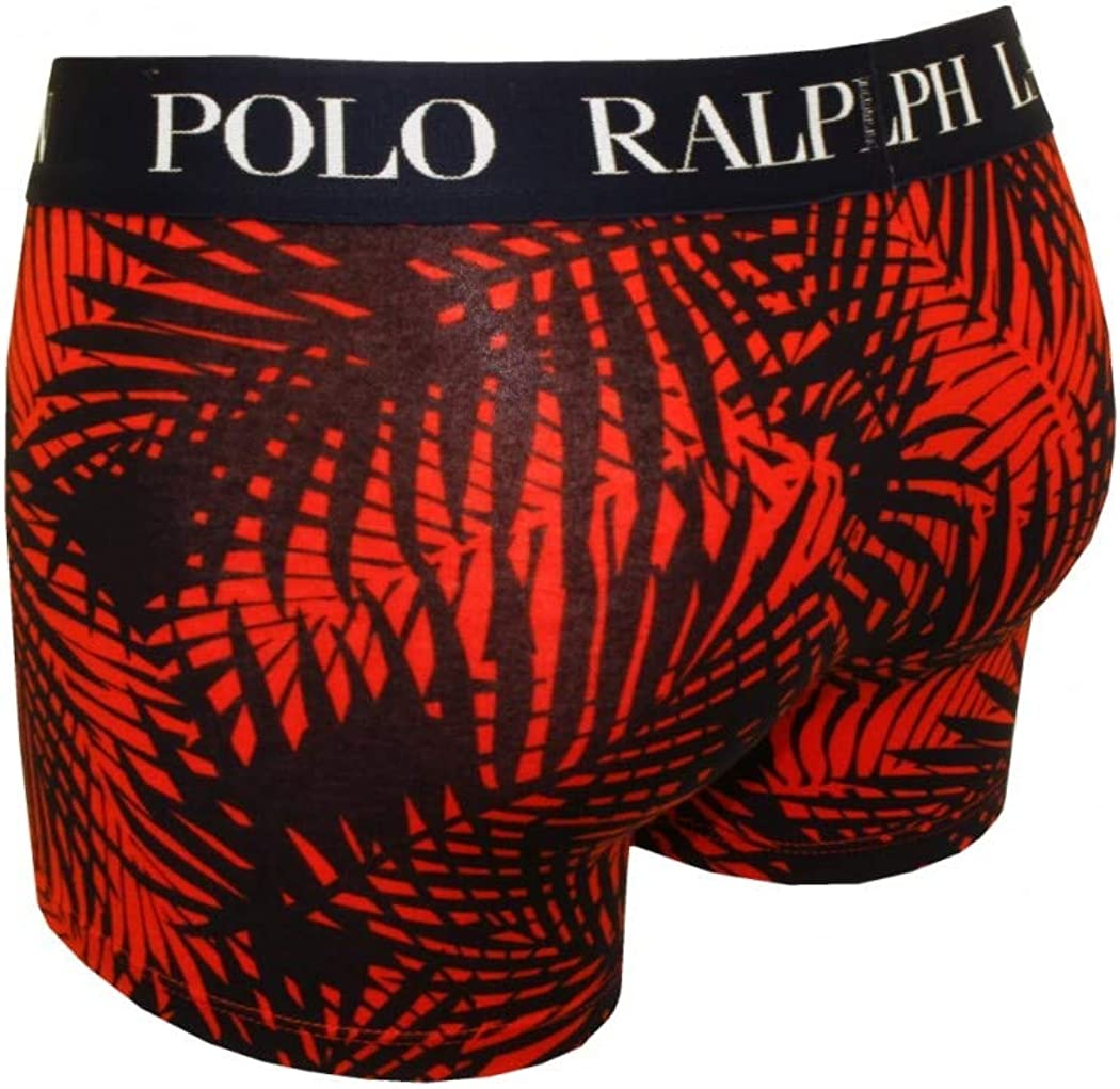 Boxer Underwear for Men Polo Classic Trunk Print Trunk Bright Poppy Palm Ralph Lauren