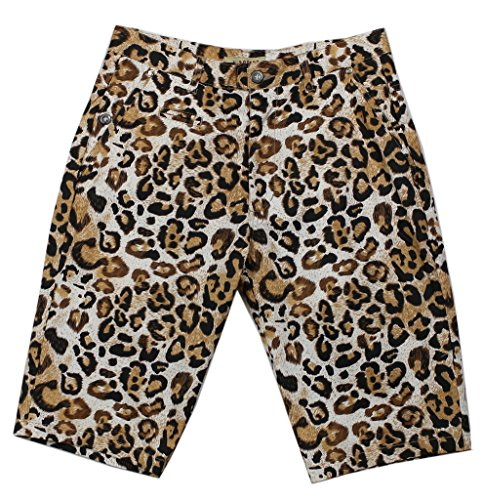 Access Men's Casual Slim Fit Colored Animal Print