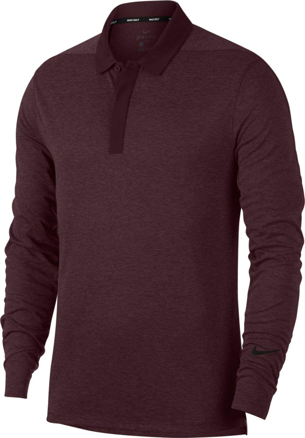 Nike M NK Dry Polo LS - Polo, Hombre, (Burgundy Crush/Black ...